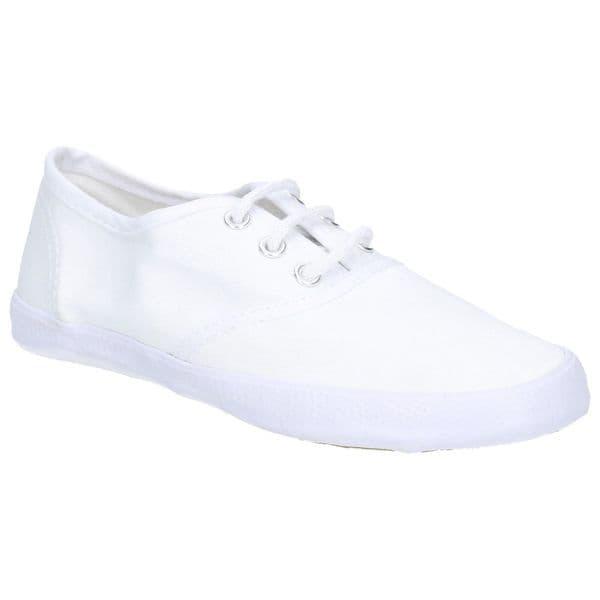 Mirak Plimsolls Lace Plimsolls White